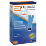 Abbott Diabetes Care Optium EZ Test Strips - Strip, Test, Optiumez, 50's