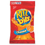 Marjack Ritz Bits Cheese Big Bag, 3 oz., 12 BG/CT