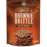 Marjack Brownie Brittle Salted Caramel, 5oz., Brown