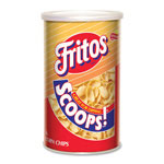 Marjack Frito Scoops, Canister, Original Corn Chip