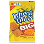 Marjack Wheat Thins Big Bag, 1.55 oz., 8/PK