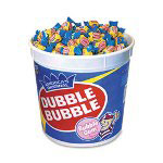 Marjack Double Bubble Bubble Gum, Blue