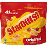 Marjack Starburst Original Fruit Chews, 41oz., 6/BG, Yellow