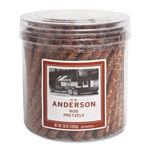 Marjack Old Fashioned Pretzel Rods, Resealable tub, 36/ Ounce