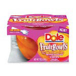 Marjack Peach Fruit Bowls, 7 Ounce