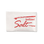 Diamond Salt Packets, .75 Grams, 1000 Packets/Box/3 Boxes/Carton
