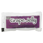 Diamond FLAVOR FRESH Jelly, Grape, 0.5 oz Poly Pouch, 200 Pouches