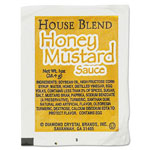 Diamond House Blend Rectangular Cup Dipping Sauces, Honey Mustard, 1 oz Cup, 100/Box