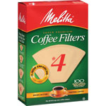 Melitta Premium Coffee Filters, No.4, 100/PK