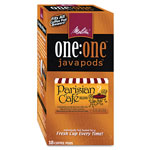 Melitta One:One Coffee Pods, Parisian Cafe, 18 Pods/Box
