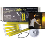 Miller's Creek Emergency Light Kit, Assorted Sizes, Yellow