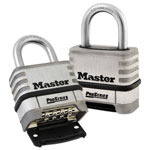 Master Lock Company ProSeries Stainless Steel Easy-to-Set Combination Lock, Stainless Steel, 5/16""
