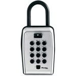 Master Lock Company Portable Key Safe, Protective Weather Cover, Black/Silver