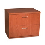 Mayline Aberdeen Lateral File, 36W x 24D x 29-1/2H, Cherry