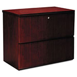 Mayline Luminary Series Lateral File, 34-5/8w x 20d x 29h, Cherry