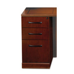 Mayline Sorrento Pencil/Box/File Credenza Pedestal, 15 1/4w x 24d x 28 1/4h, Cherry