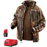 Milwaukee Electric Tools M12 Realtree Xtra Camo 3-in-1 Heated Jacket, Size L