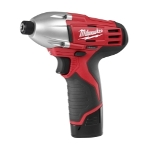"Milwaukee Electric Tools M12 1/4"" Hex Rechargeable Impact Driver"