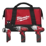 Milwaukee Electric Tools M12 3 Piece Automotive Cordless Combo Kit