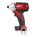 "Milwaukee Electric Tools M18 Cordless 1/4"" Hex Compact Impact Driver (Bare Tool)"