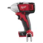"Milwaukee Electric Tools M18 Cordless 3/8"" Compact Impact Wrench with Ring (Bare Too)l"