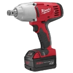 "Milwaukee Electric Tools M18 Cordless 3/4"" High Torque Impact Wrench with Friction RIng Kit"