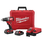 "Milwaukee Electric Tools 1/2"" Compact Brushless M18 Drill/Driver Kit"