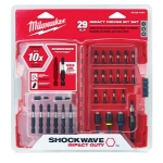 Milwaukee Electric Tools 29 Piece ShockwaveDriver Bit Set