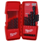 Milwaukee Electric Tools 21 Piece Thunderbolt Black Oxide Drill Bit Set