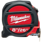 Milwaukee Electric Tools 26'/8M Tape Measure