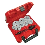 Milwaukee Electric Tools 13 Piece General Purpose Ice Hardened Hole Saw Kit