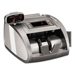 MMF Industries 4820 Bill Counter with Counterfeit Detection, 1200 Bills/Min, Charcoal Gray
