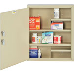 "MMF Industries 2019065D03 Medical Supplies Cabinet w/2 Keyed Locks, 14"" x 3-1/8"" x 17-1/8"""