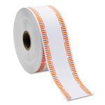 MMF Industries Automatic Coin Rolls, Holds 40 Quarters, White/Orange, Approx. 1900/Roll