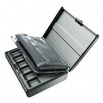 MMF Ind. echelon™ Elite Security Case, Silver, 14 3/4w x 11 3/4d x 4 1/4h