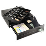 "MMF Steelmaster 2251060GT04 Cash Drawer, 16-3/4"" x 18"" x 4-3/4"", Black"