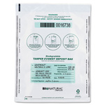 "MMF Industries Deposit Bag, Bio-Natural, Tamper Evident, 12"" x 16"", 100/CT, WE"