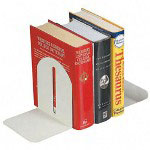 "Fashion Bookends, Steel, 6""x5""x7"", Sandstone"