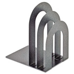 MMF Industries Soho Bookend with Curved Corners, Granite
