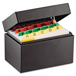 MMF Industries Index Card File Holds 300 3 x 5 cards, 5 3/4 x 3 5/8 x 4