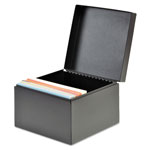 MMF Industries Index Card File Holds 500 5 x 8 cards, 8 3/4 x 5 1/8 x 6