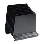 MMF Industries 8 Section Slanted Organizer, 11w x 9-1/4d x 12h, Black