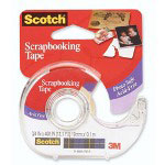 3M Mending Tape For Photos/Documents, Acid Free, 19mmx10.1M