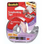 "3M Double Sided Tape For Photos or Documents, Acid Free, 1/2""x300"""