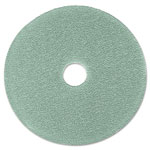 "3M Burnish Floor Pad 3100, 19"", Aqua, 5 Pads/Carton"