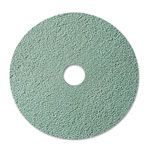 "3M Burnish Floor Pad 3100, 20"", Aqua, 5 Pads/Carton"