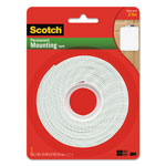 "3M Permanent High-Density Foam Mounting Tape, 1"" Wide x 125"" Long"