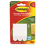 "Command® Picture Hanging Removable Interlocking Fasteners, 5/8"" x 2 3/4"", Set of 3"