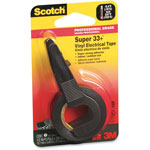 "3M Electrical Tape, 1/2""x200"", Black"