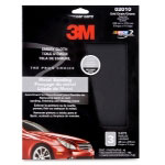 "3M Emery Cloth Sheets, 9"" x 11"" - 3 Sheets per Pack"
